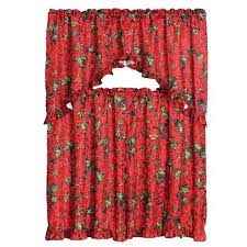 red kitchen curtains sale image of red kitchen curtains cheap red