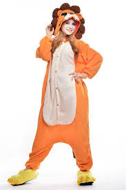 onesies for adults halloween amazon com bettertime lion onesie adults sleepwear pajamas