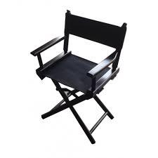 chaise r alisateur mini fauteuil réalisateur noir personnalisable