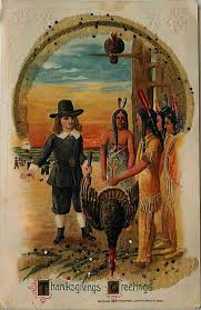 thanksgiving pilgrims and indians thanksgiving 1914 indian