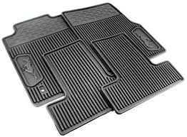mustang mats rubber floor mats with pony logo 05 09 6r3z 6313300 a