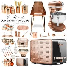 Design For Copper Flatware Ideas Copper Kitchen Decor Guide The 36th Avenue
