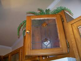 faux stained glass kitchen cabinets by stained glass kitchen cabinets