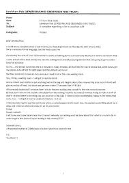 Complaints Letter To Hospital addenbrooke s responds to complaints about staff sle