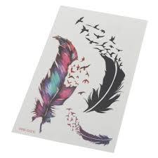 tattoo decal paper buy tattoo sticker temporary tattooing paper birds furs pattern body art