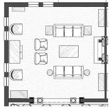 plan furniture layout plan of living room with furniture coma frique studio 5fcdedd1776b