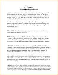 lab report template word formal lab report exle biology format exle 326037 jpe form
