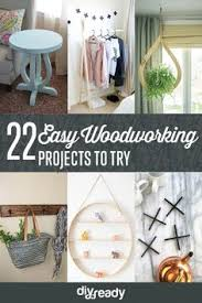 27 of the easiest woodworking projects for beginners via http