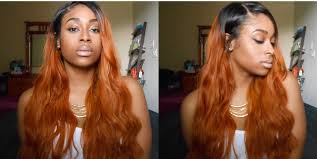 orange spice color aliexpress grace hair peruvian body wave orange hair youtube