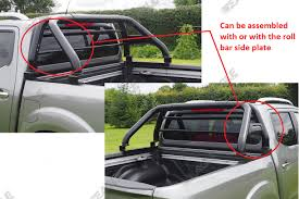 Ford Ranger Truck Bed Cover - nissan navara np300 hawk roll bar black fits with tonneau cover
