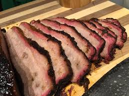 smoked brisket food