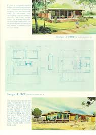Antique House Plans Vintage House Plans 1960s Cottages And Second Homes Antique