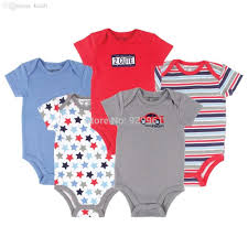 Brand Name Clothes For Cheap Wholesale Luvable Friends Car Themed Baby Clothing 5 Pack Baby