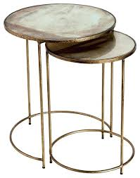 gold nesting coffee table gold nesting tables medium size of coffee side tables oak coffee