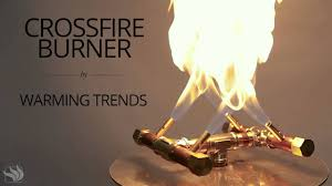 build a propane fire pit warming trends crossfire fire pit burner youtube