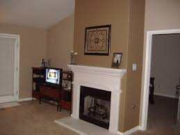 walls brown teepee by behr fireplace belgian sweet by behr