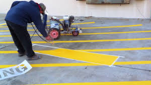 parking lot striping services in dallas and fort worth striping sand blasting and painting
