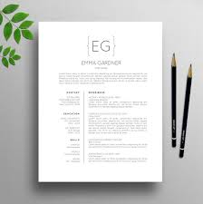 resume modern fonts exles of figurative language 21 best professional resume cv templates images on pinterest