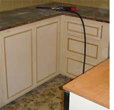 Adding Trim To Kitchen Cabinets by Home Dzine Kitchen Diy Kitchen Revamp A Kitchen Goes Black