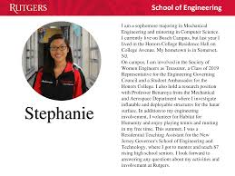 Rutgers Resume Of Engineering Tours Rutgers University Of Engineering