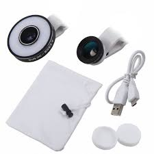 Light For Phone Aliexpress Com Buy Camera Lens Kit With Led Ring Light For Phone