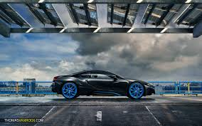 bmw van shooting a bmw i8 in typical dutch weather for hre wheels thomas