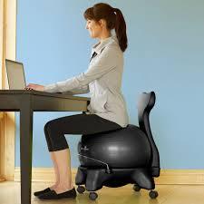 Balance Ball Chair With Arms Classic Balance Ball Chair Gaiam