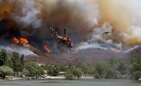 Wildfire Update by As Blue Cut Fire Closes In On Lytle Creek Some Residents Stay Put