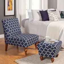 Accent Chair With Ottoman Homepop Susan Armless Accent Chair Ottoman Set Homepop