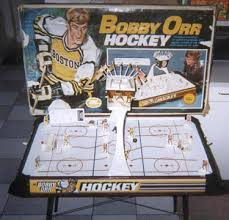 Table Top Hockey Game Playing Hockey With Bobby Orr Collector U0027s Corner