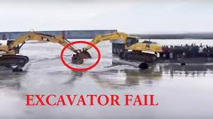 excavator fail compilation 2016 excavator accidents videos