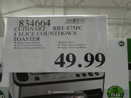 Cuisinart Toaster 4 Slice Stainless Cuisinart Countdown 4 Slice Toaster