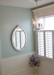 oval framed mirrors bathroom home
