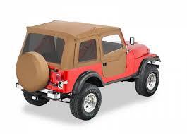 jeep wrangler 2 door soft top bestop supertop w tinted windows and 2 piece soft doors for 80 95