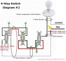 wiring diagram four way switch wiring diagram instructions 4 way