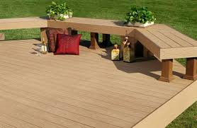 Bench Material Contemporary Deck With Built In Bench Seating By Andy Lindus