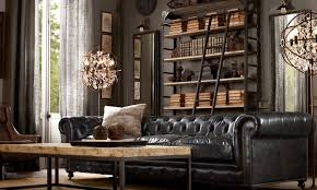 restoration hardware chesterfield sofa rustic chesterfield couches restoration hardware living room