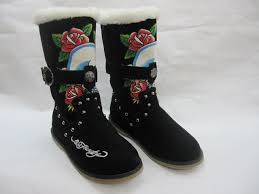 womens boots burning ed hardy ed harley womens boots burning skeleton with rhinestone