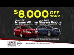 rogue black friday sale benton nissan of columbia black friday deals youtube
