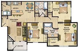 luxury floor plans with pictures luxury 4 bedroom apartment floor plans