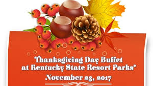 17 parks offering thanksgiving buffets wdky