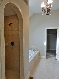 custom walk in shower u0026 separate whirlpool tub oswego real