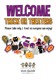 halloween please take 1 sign u2013 festival collections