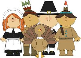 feast clipart thanksgiving celebration pencil and in color feast