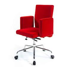 fauteuil bureau tissu chaise de bureau contemporaine avec accoudoirs à roulettes
