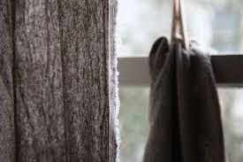 diy raw edge linen curtains budget edition remodelista