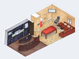 isometric drawing interior design splendid interior home design