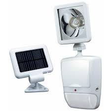 Nature Power Hanging Solar Shed Light by Heath Zenith 180 Degree White Motion Sensing Solar Powered Led
