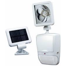 heath zenith 180 degree white motion sensing solar powered led outdoor security light
