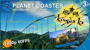 Six Flags Great Adventure Map Planet Coaster Recreations 03 Kingda Ka Six Flags Great